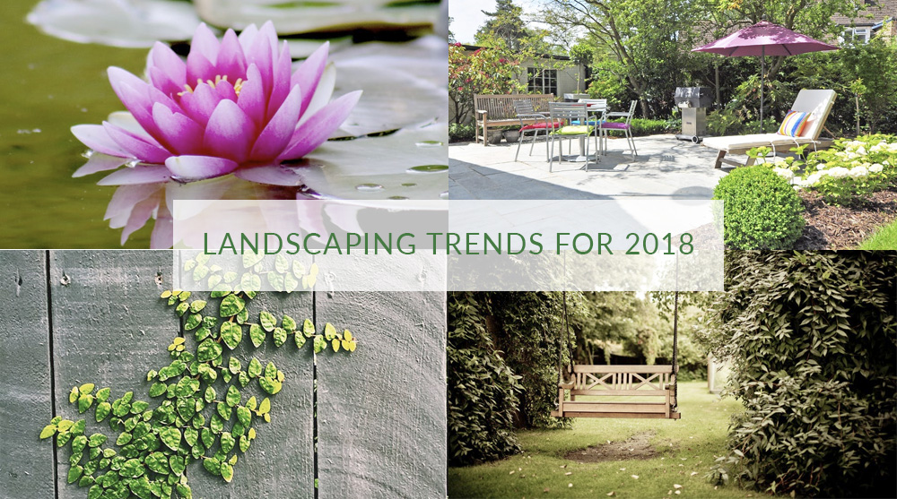 Landscaping trends for 2018
